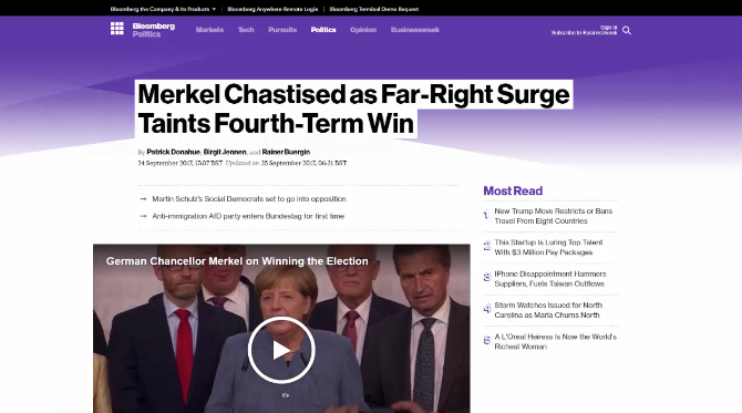 Chief analyst - How the Germany elections will effect the markets