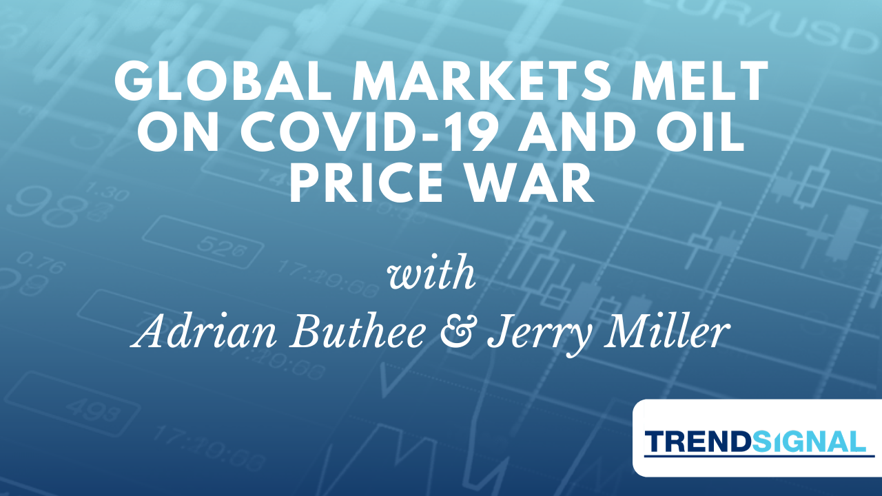 Global markets melt on Covid-19 and Oil price war