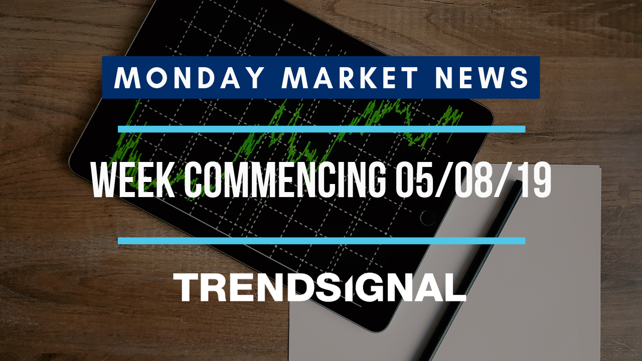 Latest market news for the w/c 5th August 2019