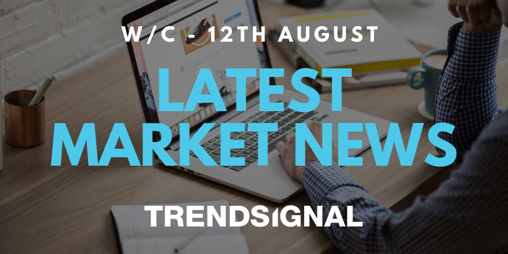 Important Financial News and Events for the w/c 12th August