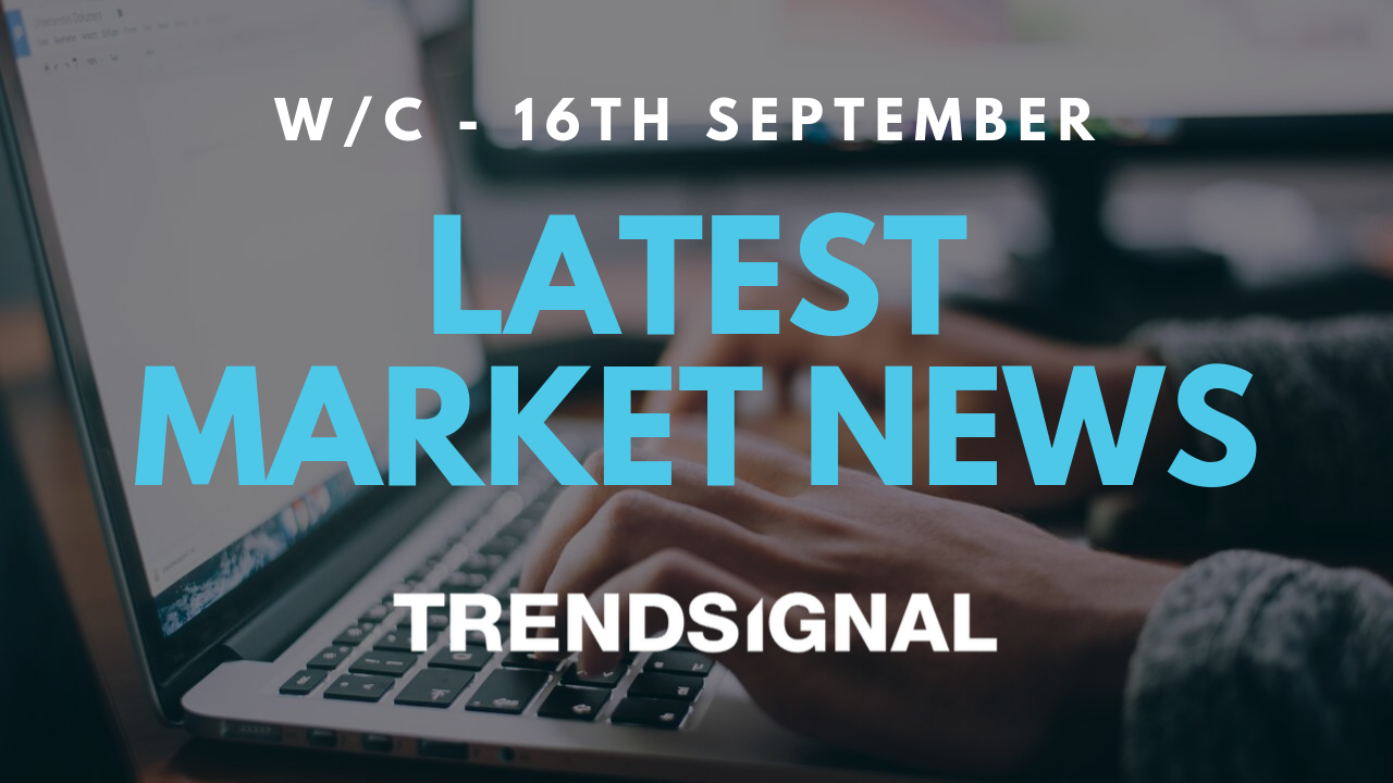 Latest Market News - w/c 16th September